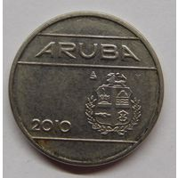 Аруба 25 центов 2010 г