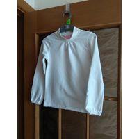 Польская белоснежная блуза гольф 128-134