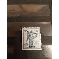 1922 Итальянская колония Ливия искусство культура чистая клей лёгкая наклейка(5-7)