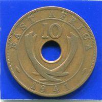 Британская Восточная Африка 10 центов 1941