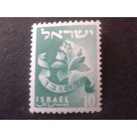 Израиль 1955 стандарт, цветы