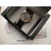 Часы СERTINA,Swiss Made,сапфир,как новые!Mex.ETA!D38mm!WR100m!