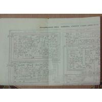 Принципиальная схема телевизора Горизонт 61ТЦ305 (2УСТЦ-61-11)