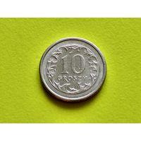 Польша. 10 грошей 1991.