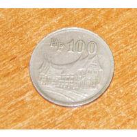 Индонезия 100 рупий 1973 VF