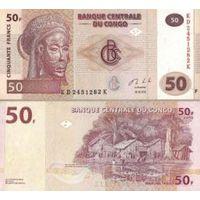 Конго. 50 франков 2013. [UNC]