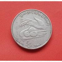 70-13 Тунис, 1/2 динара 1983 г.