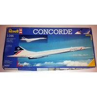 Сборная модель Самолета Concord (Конкорд) (масштаб 1:144)