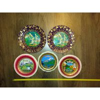 Тарелки - панно настенные Абхазия. Цена за 1 тарелку.