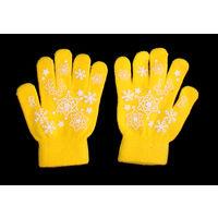 Веселенькие детские перчатки безразмерные, шерстяные, новые