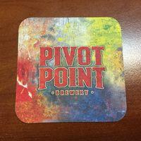 Подставка под пиво Pivot Point пивной компании Keller /Россия/ No 2