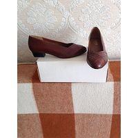 Туфли женские без каблука
