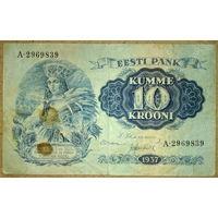 10 крон 1937г