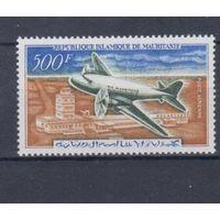 [640] Мавритания 1963. Авиация.Самолет.