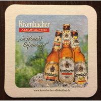 Подставка под пиво Krombacher No 5
