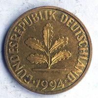 Германия (ФРГ), 10 пфеннигов 1994 (F)