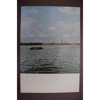 """Мазелев Р.(фото), Ленинград. """"Ракета"""" на Неве; 1967, чистая (Лениздат)."""