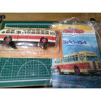 Продам Зис 154 из журнальной серии Наши автобусы номер 5 производитель Modimio