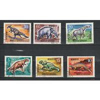 МОНГОЛИЯ 1967 Фауна .Динозавры. (АНД