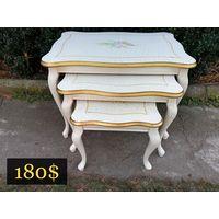 Комплект Цветочных Столиков 3 в 1 Италия SILIK, цена за комплект.