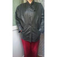 Куртка кожаная р.52-54