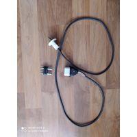 Целый  электрошнур  для запитки старых бытовый проборов(эл.чайник ,самовар) и другие