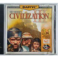 Civilization III Rus+Eng, CD, б-у ; 2 руб