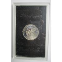 США. 1 доллар 1971 S . Эйзенхауэр.  Пруф  .S-0000