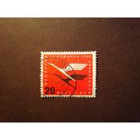 Германия 1955 г.Перезапуск немецкой авиакомпании-Люфтганза.