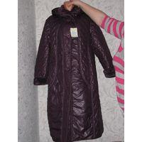 Зимнее пальто размер 56