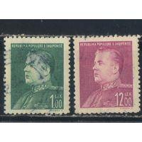 Албания НСР 1949  Энвер Ходжа Стандарт #468,473