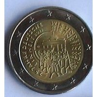 2 евро 2015F Германия 25 лет объединению Германии