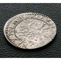 Грош 1610, Сигизмунд III Ваза, Вильно. Ав: конец легенды POL.M.D.LITV. Достаточно редкий тип монеты, коллекционное состояние