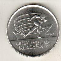 Канада 25 цент 2009 Синди Классен - шестикратный призёр Олимпийских игр
