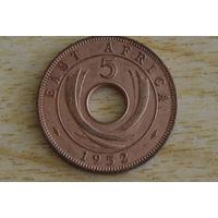 Восточная Африка 5 центов 1952