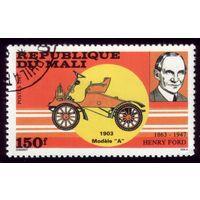 1 марка 1987 год Мали Автомобиль 1089
