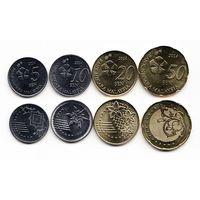 Малайзия Набор 4 монеты 2012-14 год UNC