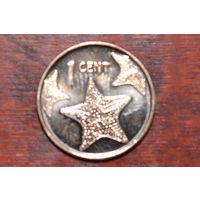 Багамские острова 1 цент 2014