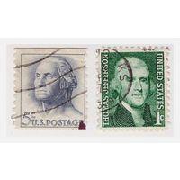 США Стандарт Джордж Вашингтон, Томас Джефферсон
