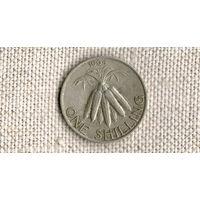 Малави 1 шиллинг 1964 /флора//(ON)