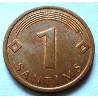 1 сантим 2008 Латвия