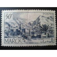 Марокко 1950 стандарт, город, горы
