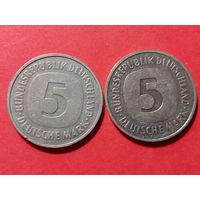 5 марок 1983-92 ГОД. (2 шт.)