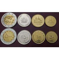 Иран НАБОР 4 монеты 2004-2006 UNC