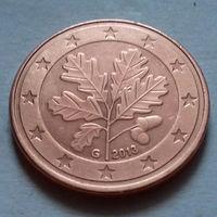 5 евроцентов, Германия 2013 G, AU