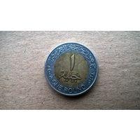 Египет 1 фунт, 2007г. (Б-3)