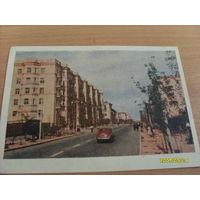 Открытка  Сталинград фото Петрова  1953 год