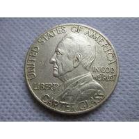 1/2 доллара США 1936 г., 150 лет основания г. Линчберг, штат Вирджиния, Картер Гласс, копия редкой монеты