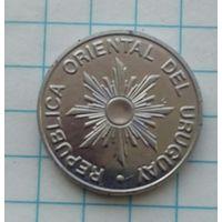 Уругвай 10 новых песо 1989г.