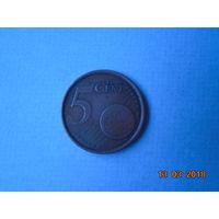 5 евроцентов Испания 1999